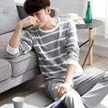 2016 зимние мужские шелковый атлас пижамы пижамы установить пижамы набор loungewear все сезоны