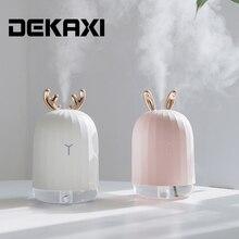 220ml Aroma dyfuzor olejków eterycznych powietrza ultradźwiękowy nawilżacz usb Fogger Mist Maker ze led lampka nocna dla domu samochód
