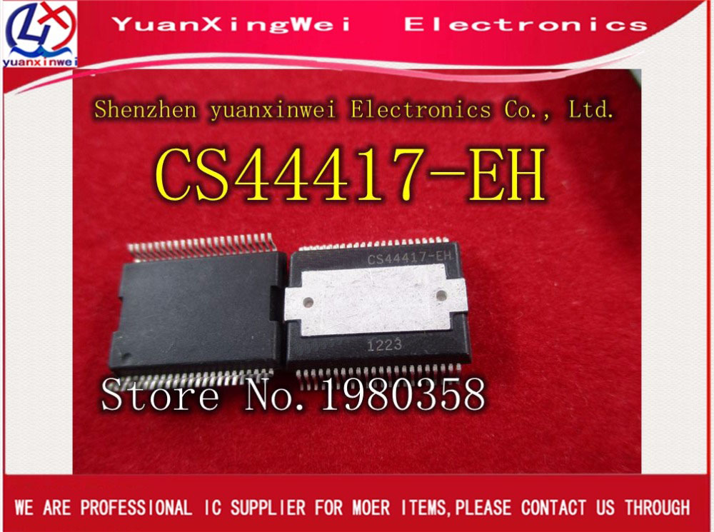 Freight free  1pcs CS44417 - EH CS44417-EH CS44417 motor drive IC chipFreight free  1pcs CS44417 - EH CS44417-EH CS44417 motor drive IC chip