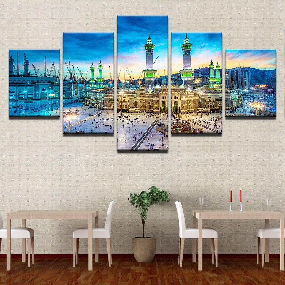 Gemälde Wohnzimmer, leinwand gemälde wohnzimmer hd drucke wohnkultur 5 stücke, Design ideen