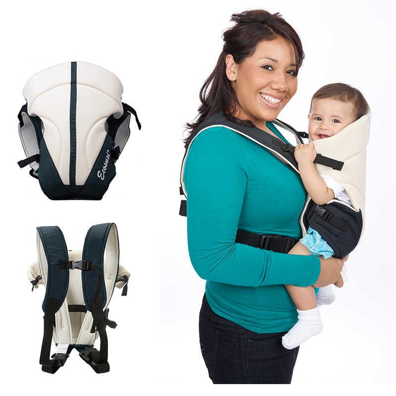 Mommore ด้านหน้าและกลับทารก Carrier ครีมสถานที่แล้ว 3-14Months Breathable เด็กทารกกระเป๋าเป้สะพายหลังกระเป๋าห่อเด็กจิงโจ้