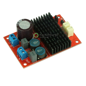 Image 2 - New arrival DC 12 V 24 V TPA3116 mono channel digital Audio power amplifier board BTL of 100 W 75 mm X 50 mm Electrical modules