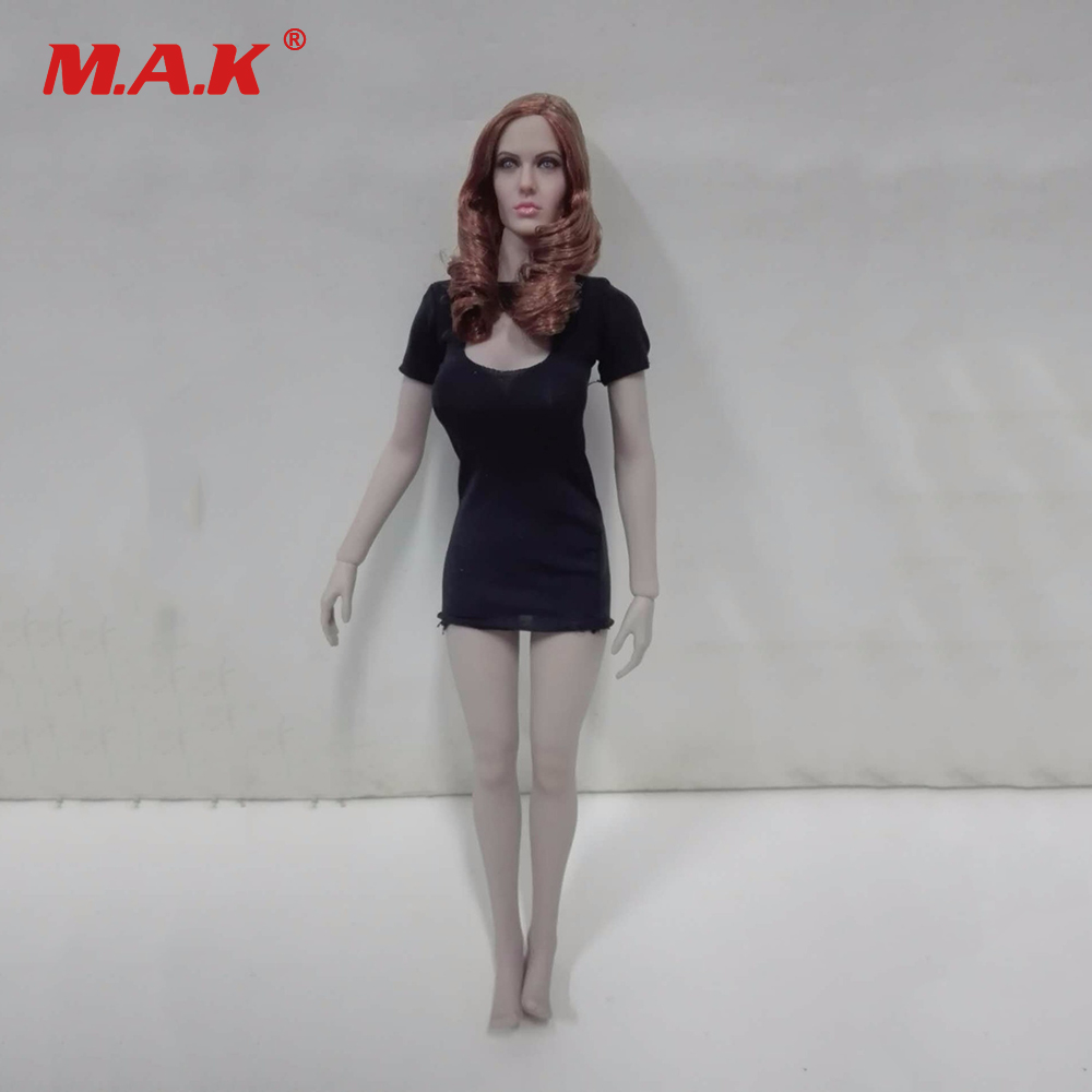 4 Styles 1:6 Scale Female Suntan Color Body Figure Super-Flexible Seamless Figure with Stainless Steel for Dolls Action Figure 1 6 scale figure doll plastic model seamless body with metal skeleton female samurai tomoe 12 action figure collectible figure