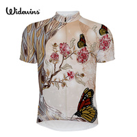 Florenca Butterfly Summer Breathable Cycling Jersey MTB Bike Clothing Racing Bicycle Clothes Maillot Ropa 3 Colour
