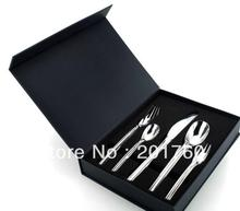 High-grade stainless steel tableware spoon fork and knife dinnerware sets free shipping G32009-5