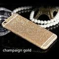 "Luxurious Bling Diamond Full Body Matte Decal Glitter Front & Back Film Sticker Case Cover For Apple iPhone 6S Plus 5.5"""
