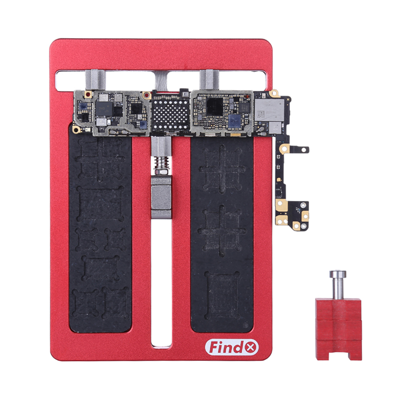 Universal Fixture Phone IC Chip BGA Chip Motherboard Jig Board Holder For iphone Samsung Repair Tools 2piece 100% new for ite it8517vg hxs bga ic for motherboard repair