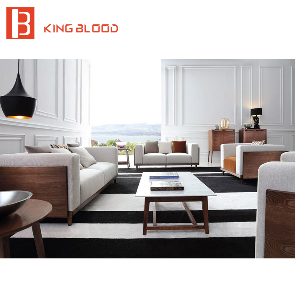 Elegant european stylish modern sectional couch living room sofa set ...