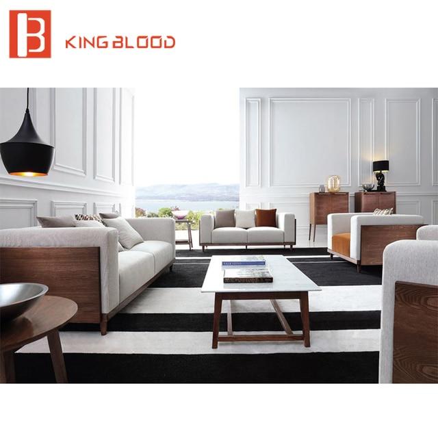 Elegant european stylish modern sectional couch living ...