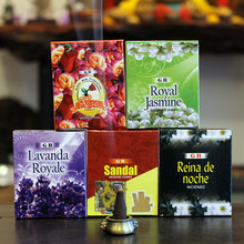 YXY GR India Cone Incense Small Box Natural Fragrant Spices Agilawood Lavender Sandalwood Living Room Buddhism Tower Incense(China)