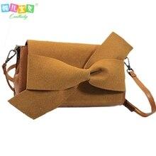 Heißer Verkauf Vintage Frauen Tasche hochwertigem Nubuk Umhängetaschen bogen handtasche Mode Frauen Umhängetasche partei abend tag kupplung