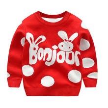 Зимние Свитера для девочек новинка осень зима свитер маленьких