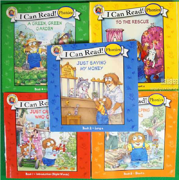 I Can Read Phonics Young Children S Natural Study English