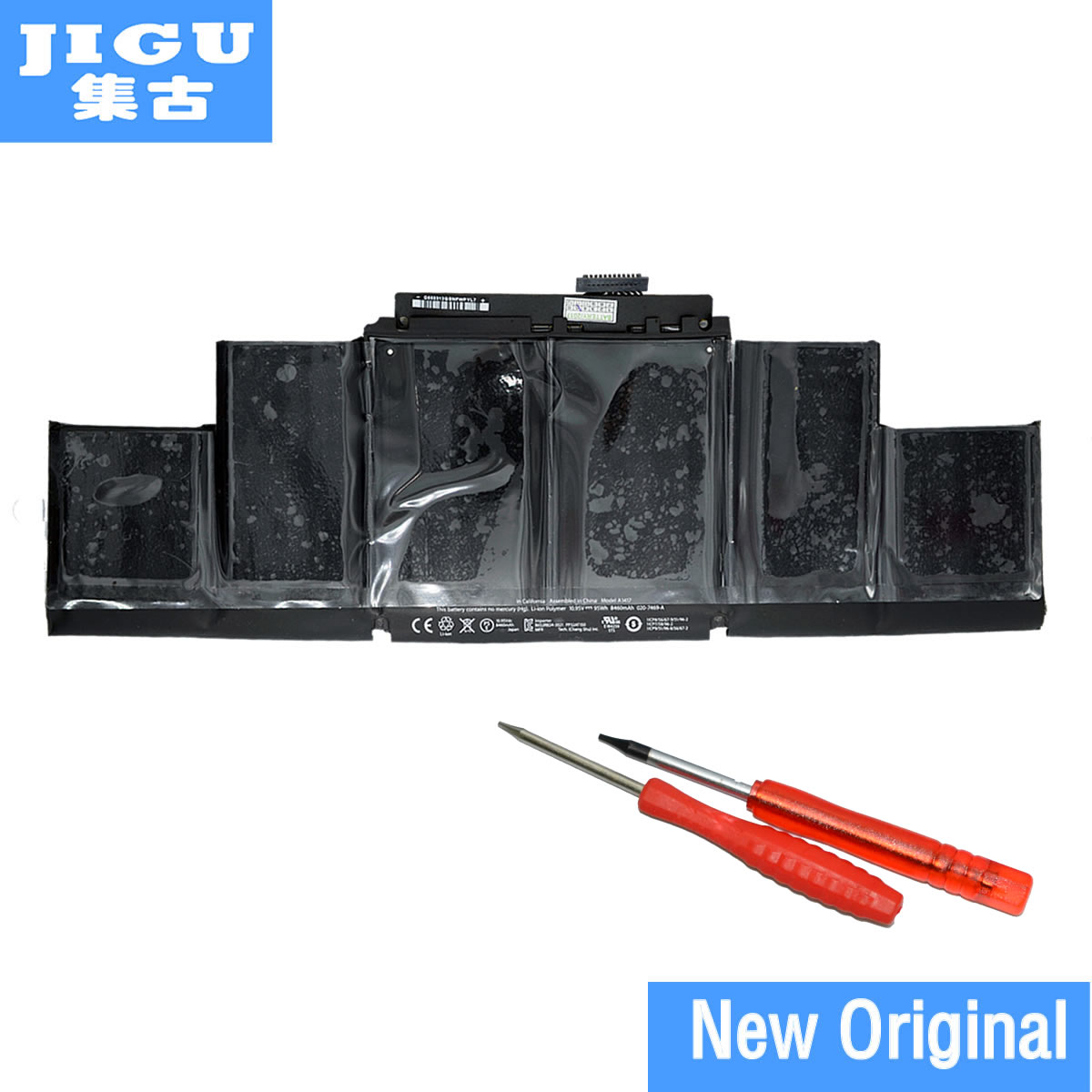 JIGU 10,95 v 95Wh Neue Original Laptop <font><b>Batterie</b></font> für Apple A1417 für Apple <font><b>MacBook</b></font> <font><b>Pro</b></font> A1398 <font><b>15</b></font>