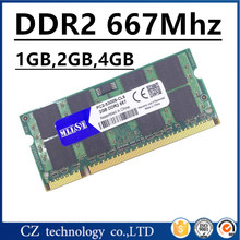 MLLSE 1gb 2gb 4gb ddr2 667mhz pc2-5300 sodimm laptop, ddr2 ram 2gb 667 pc2 5300 so-dimm notebook, memoria ram ddr2 667 2gb sdram