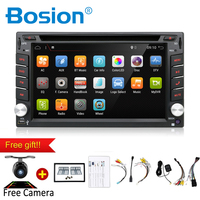 6.2 inch 2 Din Android Car Dvd Player Audio Stereo For Universal Gps Navigation Steering Wheel 2Din Radio Recorder Wifi Map Cam