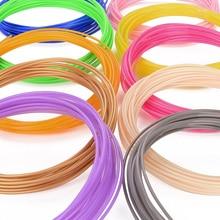 1 china Hot vendas 36 pcs * 10 M Cores Diferentes total de 360 M PLA 3D Impressão Filamento 1.75mm materiais Para Impressora 3D ou 3D Caneta