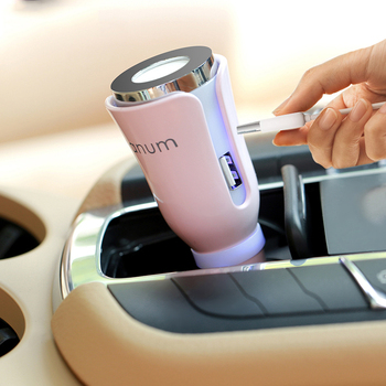 Ã�ニ車アロマエッセンシャルオイルディフューザー加湿器アロマポータブル車の空気加湿器クールミスト清浄機車
