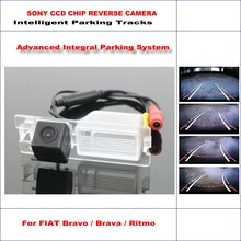 Intelligentized Reversing Camera For FIAT Bravo / Brava / Ritmo Rear View Back Up / 580 TV Lines Dynamic Guidance Tracks