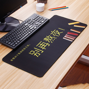 Hot Selling Dont stay up late Extra Large Mouse Pad Gaming Mousepad Anti-slip Natural Rubber Mat with Locking Edge
