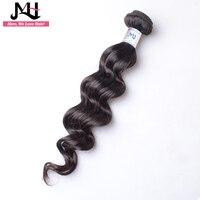 JVH Malaysian Hair Loose Wave Remy Hair Weaving 100% Human Hair Weave 1 Bundles Natural Color Weft 14 28Inch