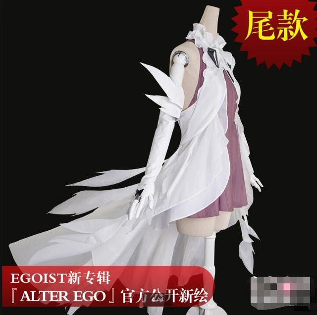 US $120 23 8% OFF|Egoist Guilty Crown ALTER EGO Yuzuriha Inori Perfect  Cosplay Costume Highly Quality+Free Shipping skirt dresses female socks -in