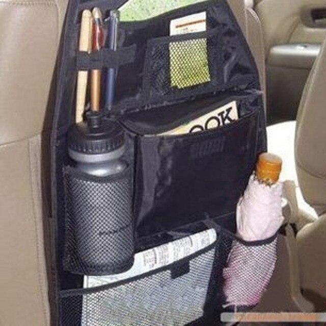 Car Accessories organizer Back seat of chair Car multi Pocket Storage Auto storage bag Car seat high quality