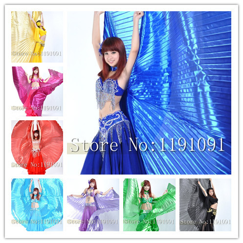 Egypt Isis Belly Dance Wings Dance Wing Hot New indian dance women bellydance 1pc wing 11