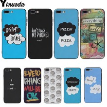 Yinuoda Ok image Soft TPU Gel Silicone cover cases For iphone 6 6s 6plus 6S plus 7 7plus 8 8plus 5 5S SE X XS XR XSMAX