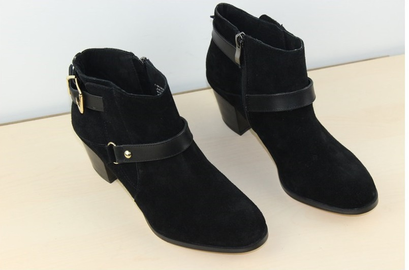 Steve Genuine leather high heels Ankle boots Women ladies Boots ...