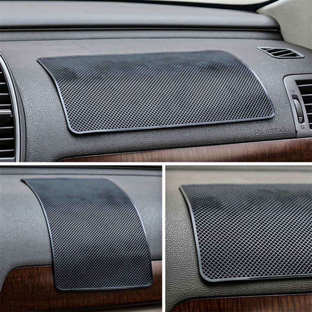 все цены на 27x15cm New Universal Car Dashboard Magic Anti Slip Mat Non-slip Pad For Key Cell Phone Iphone GPS Smart Mobile phone Holders онлайн