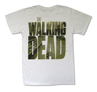 OKOUFEN The Walking Dead City Logo White T Shirt Official Adult Horror Adult Create Your T