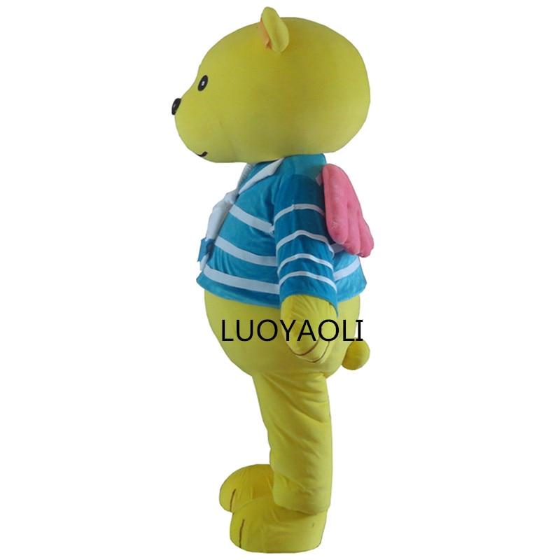 2014 neuankömmling custome neue stil braun teddybär maskottchen - Kostüme - Foto 2