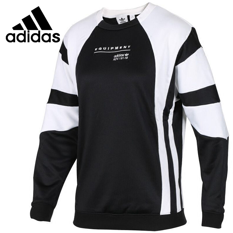 Original New Arrival  Adidas Originals  EQT OG SWEAT Women's Pullover Jerseys Sportswear