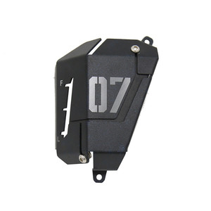 Image 3 - MT07 FZ07 Coolant Recovery Tank Shielding Cover For Yamaha MT 07 FZ 07 MT 07 FZ 07 2014 2015 2016 2017 2018 2019