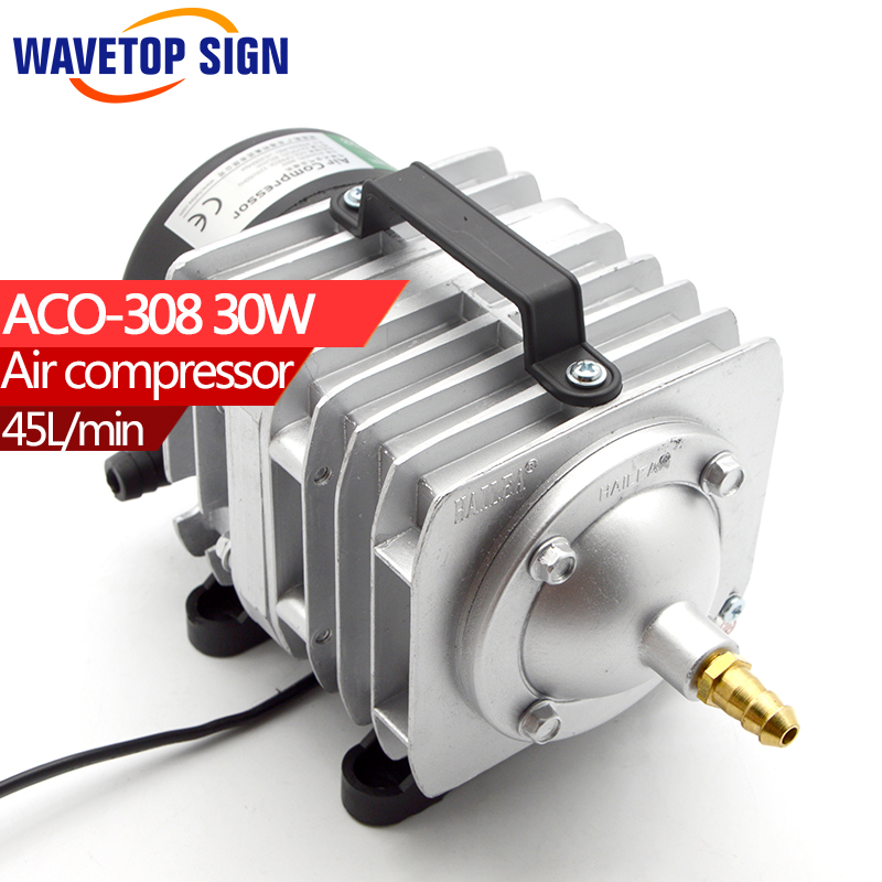 HAILEA Air Compressor air pump 30w  ACO308  0.025Mpa 45L/Min  30W 220v/50HZ new resun aco 008 high quality 120w 0 110m3 min aquarium fish tank pond electromagnetic air compressor pump new
