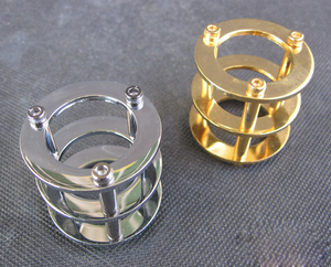 Image 1 - Vacuum Tube Guard Protector Cover for 12AX7 12AT7 ECC83 6922 5687 HIFI Vintage Audio AMP DIY Gold&Chrome Plated 1PC