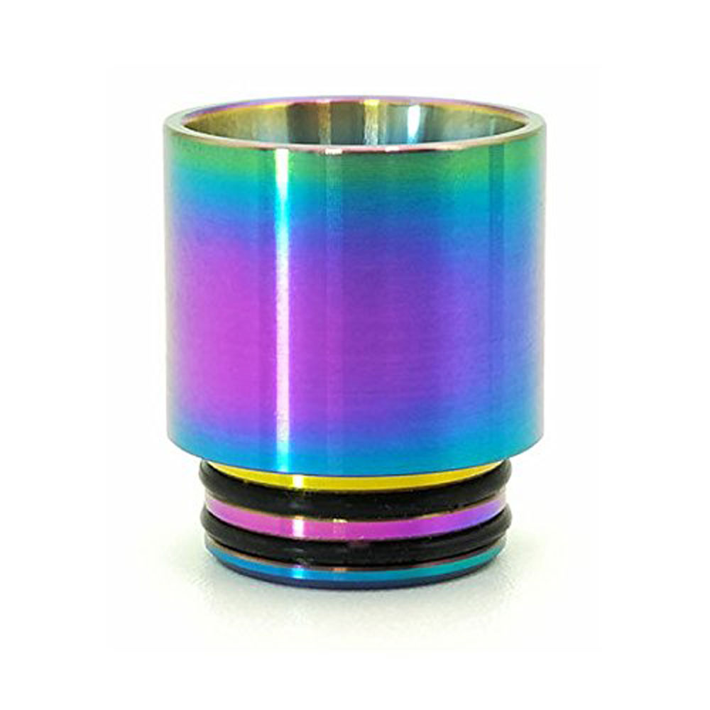Yunkang 510 810 Drip Tip Mouthpiece For E-cigarette Vape Pen Atomizer Tank Replacement 510 810 Drip Tips Rainbow nigel long 510 drip tip with 9 holes for atomizer drip tip mouthpiece for rda rdta tank vape electronic cigarette accessories