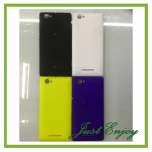 New Housing For Sony Xperia M C1904 C1905 Battery Back Cover Housing Case Door +Side Buttons +NFC Free Tracking