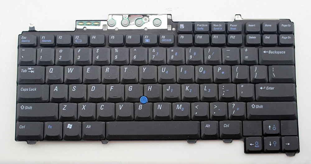 Us Keyboard Black For Dell Latitude D630 D620 D830 D820 Pp10s Pp18l M65 Laptop Computer Peripherals Computer & Office