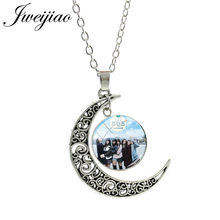 JWEIJIAO Kpop gfriends colliers chanteur gami Album verre Cabochon Photo dôme collier pour les Fans bijoux cadeau GF67(China)