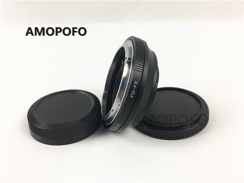 Amopofo FD-FX Focal Reducer Speed Booster Adapter For Canon FD Lens to Fuji FX X-Pro1, X-E1, X-E2, X-M1, X-A, SR/X-600 цена и фото