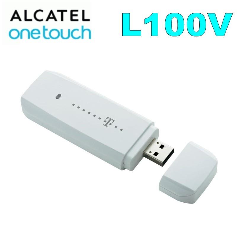 Alcatel One Touch L100V 4G LTE 100Mbps Mobile Broadband USB modem UNLOCKED