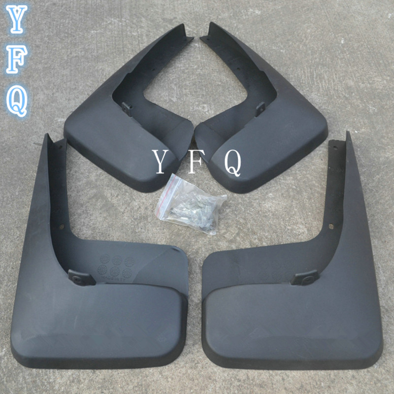 High-quality plastic Mud Flaps Splash Guard Fender for 2011-14 Chrysler Grand Voyager 3.6L car styling free shipping 2013 2014 infiniti jx35 qx60 high quality soft plastic mud flaps splash guard