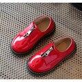 2017 primavera otoño nueva moda zipper niños baby kids shoes niños coreanos niñas botas en stock