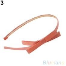 Hot Sweet Cute Fashion Korea Style Bowknot Hair Band Bow Tie Headband Accessory 5PXP