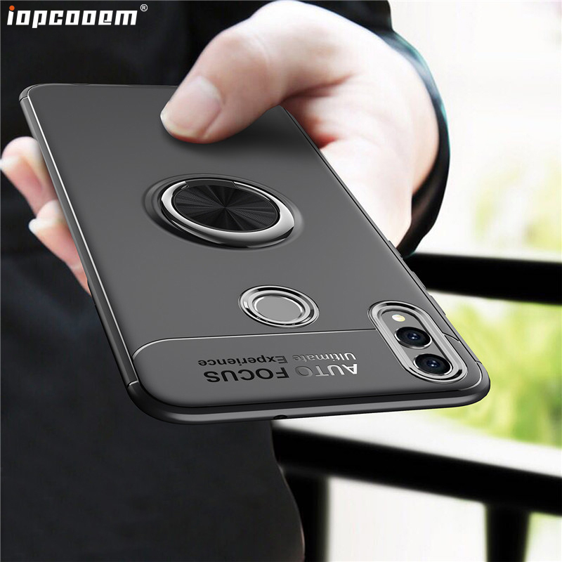 For Huawei <font><b>Honor</b></font> <font><b>8X</b></font> <font><b>Case</b></font> Honor8 X business With finger ring Magnetism Holder Phone Back Cover For Huawei <font><b>Honor</b></font> <font><b>8X</b></font> <font><b>Max</b></font> Coque image