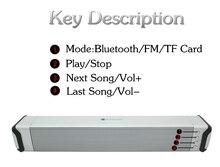 Gute silicone shell Bluetooth Speaker Column Home Theater Soundbar Surround Sound Wireless caixa de som portatil alto falante