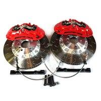 Автомобиль изменение высокая производительность 370*36 мм тормозной диск для AMG большой тормозной суппорт для mercedes w204
