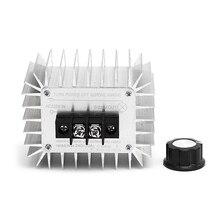 High Power AC 220V 5000W Regulator SCR Motor Electronic Voltage Regulator Switch